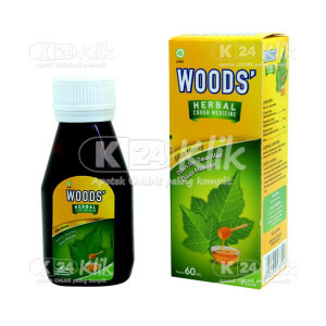 JUAL WOODS HERBAL PLUS HONEY SYRUP 60ML