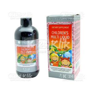 JUAL WELLNESS CHILDREN MULTI LIQUID 240ML
