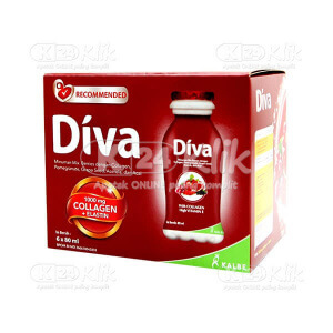 JUAL DIVA COLLAGEN HIGH VIT E 80ML