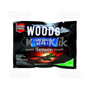 Apotek Online - WOODS LICORICE SACH