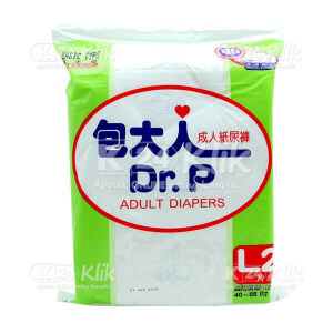 JUAL DR.P ADULT DIAPERS L2 BASIC TYPE