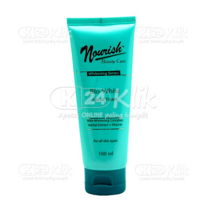 Apotek Online - NOURISH BEAUTY WHITE FACIAL FOAM 100ML