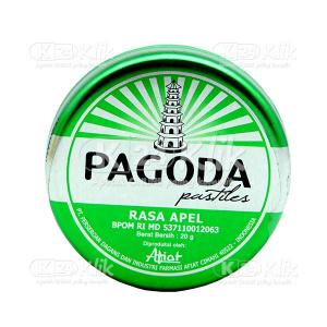 Apotek Online - PAGODA PERMEN APEL 20 G