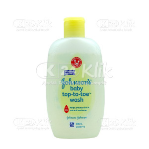 JUAL JOHNSON BABY TOP TO TOE WASH 200ML