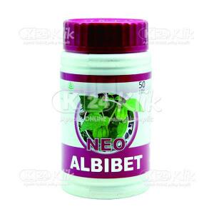 Apotek Online - ALBIBET 50 CAPS