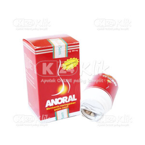 JUAL ANORAL 500MG CAP 30S/PCS