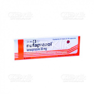 JUAL NUFAPRAZOL CAP 20S