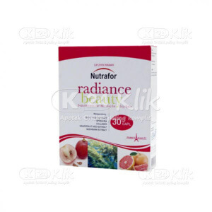 JUAL NUTRAFOR RADIANCE BEAUTY CAPL 30S