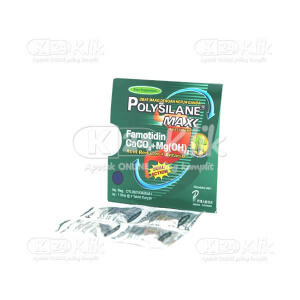 JUAL POLYSILANE MAX PAPPERMINT TAB 40S