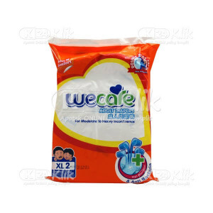 JUAL WE CARE PAMPERS DEWASA XL 2S