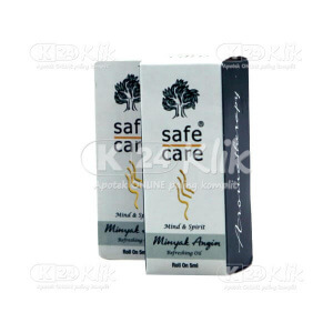 Apotek Online - MINYAK ANGIN SAFE CARE 5ML