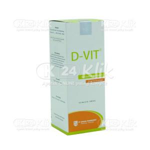JUAL D-VIT SYR 100 ML