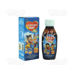 Apotek Online - VIDORAN SMART VITAMIN JERUK SYR 100ML
