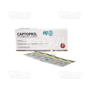 JUAL CAPTOPRIL HEXPHARM 12.5MG TAB 100S