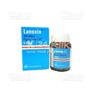 JUAL LANOXIN 0.25MG TAB 250S