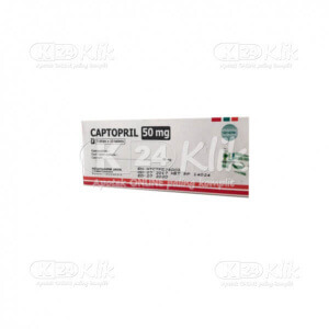 JUAL CAPTOPRIL HEXPHARM 50MG TAB 50S