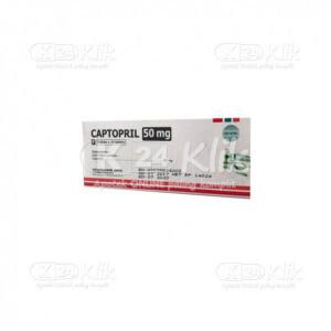 Apotek Online - CAPTOPRIL HEXPHARM 50MG TAB 50S
