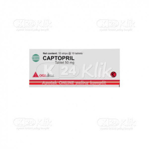 JUAL CAPTOPRIL DEXA 50MG TAB 100S
