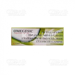JUAL OMEGESIC 500MG TAB 100S