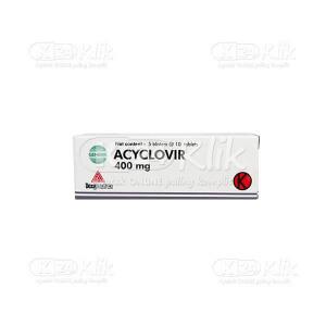 Apotek Online - ACYCLOVIR DEXA 400MG TAB 50S