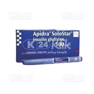 JUAL APIDRA 100IU/ML OPTIPEN SOLOSTAR