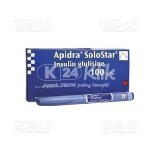 Apotek Online - APIDRA 100IU/ML OPTIPEN SOLOSTAR
