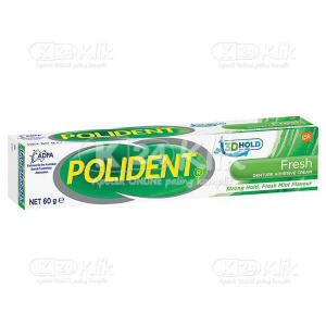 JUAL POLIDENT ADHESIVE 60G