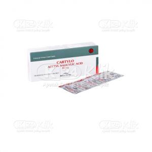 Apotek Online - CARTYLO 80MG TAB 100S