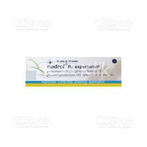 Apotek Online - NODROF FLU EXPECTORAN TAB 100S