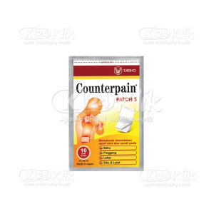 JUAL COUNTERPAIN PATCH S 10S