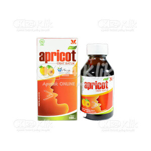 JUAL APRICOT COUGH MEDICINE 100ML