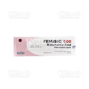 JUAL FEMISIC 500MG TAB 100S