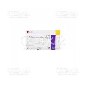 Apotek Online - CROME 10MG TAB 100S