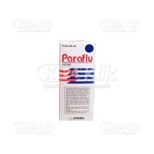 Apotek Online - PARAFLU SYR 60ML