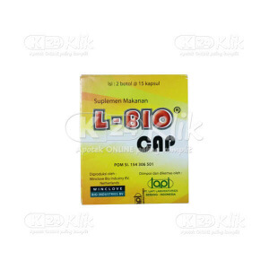 JUAL L BIO CAP 30S