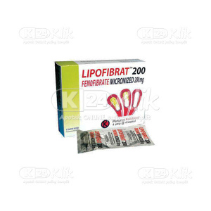 JUAL LIPOFIBRAT 200MG TAB 16S