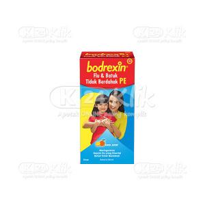 JUAL BODREXIN FLU&BATUK TIDAK BERDAHAK SYR 56ML
