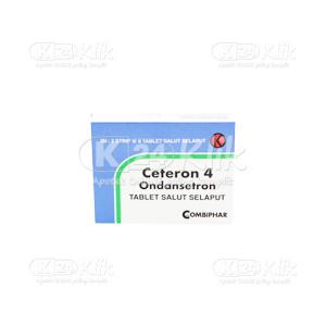 JUAL CETERON 4MG TAB 12S