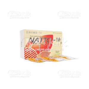 JUAL NATTO 10MG TAB 30S