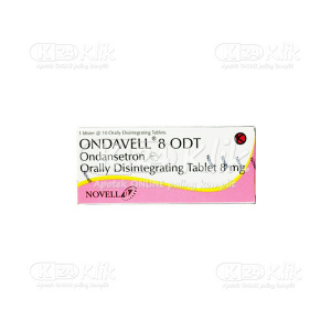 JUAL ONDAVELL ODT 8MG TAB 10S
