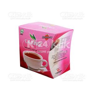 JUAL LAXING TEA STRAWBERRY 15S