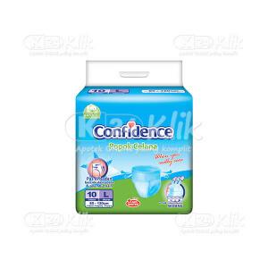 JUAL CONFIDENCE ADULT PANTS L 10S