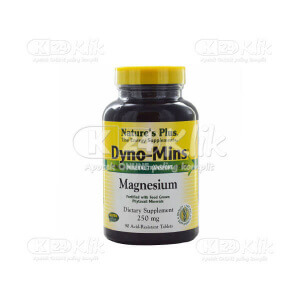 JUAL NATURE PLUS DYNO MINS MAGNESIUM 250MG 90S