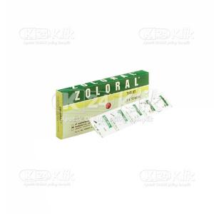 Apotek Online - ZOLORAL 200MG TAB 50S