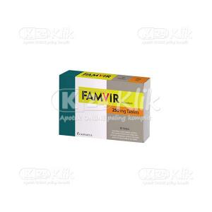 Apotek Online - FAMVIR TAB 21S