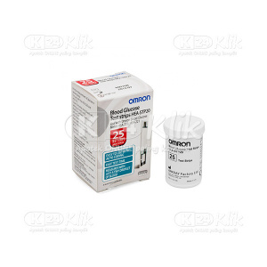 Apotek Online - OMRON BLOOD GLUCOSE TEST STRIP HEA STP20 12S