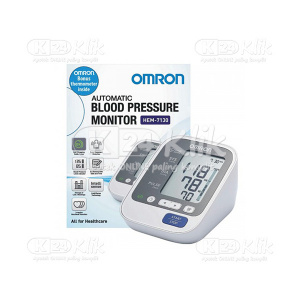 JUAL OMRON AUTOMATIC BLOOD PRESSURE MONITOR HEM-7130