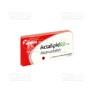 JUAL ACTALIPID 10MG TAB 100S
