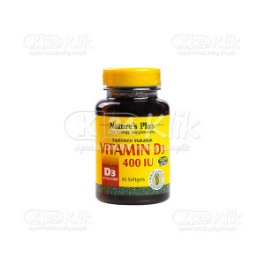 Apotek Online - NATURE PLUS VITAMIN D3 400IU