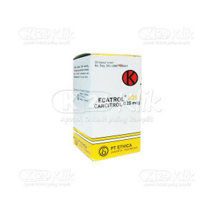 JUAL ECATROL 0.25MCG CAP 30S